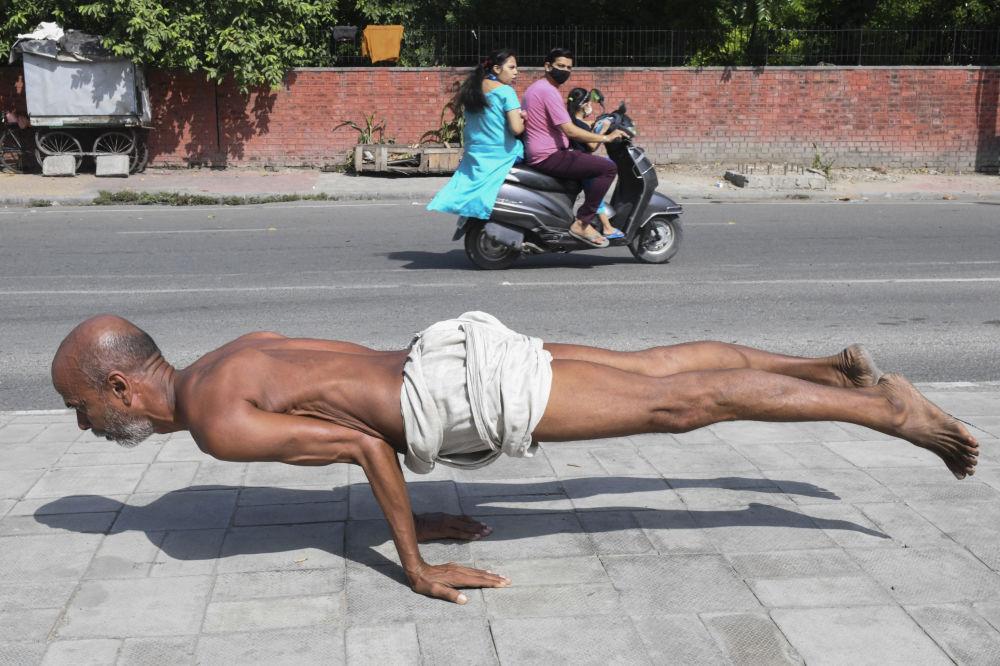 رویدادهای هفته به روایت تصویر یوگا در هند