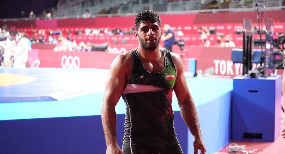 محمد ساروی قهرمان کشتی فرنگی جهان شد