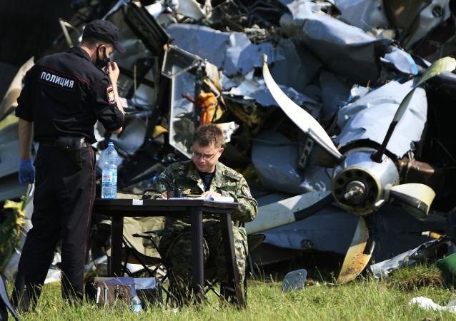 سقوط هواپیمای ال-۴۱۰ روسیه