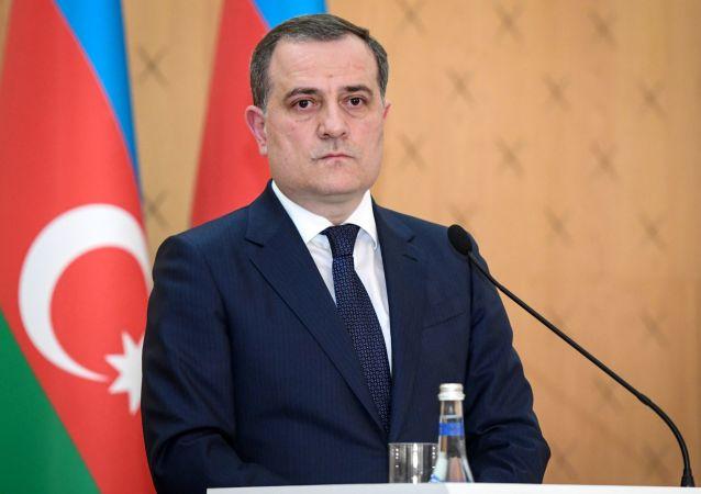جیحون بایراموف وزیر امور خارجه جمهوری آذربایجان