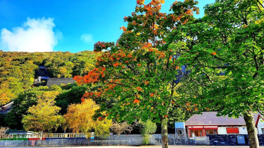 پاییز در روستای ولس لانبریس