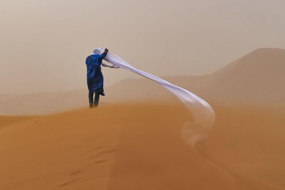 برندگان مسابقه «حفاظت از محیط زیست 2021» اعلام شدند عکاس تام آورال از استرالیا، صحرا