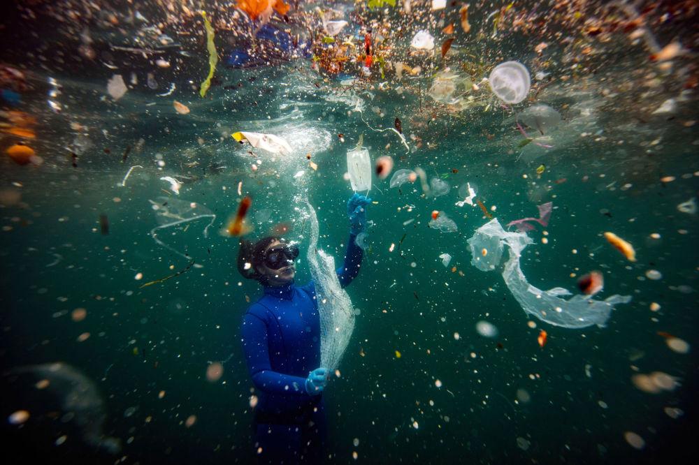 برندگان مسابقه «حفاظت از محیط زیست 2021» اعلام شدند عکاس شبنم جوشکون از ترکیه، خطری جدید برای زندگی زیر آب