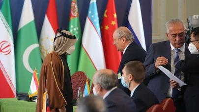 نشست وزیران خارجه کشورهای همسایه افغانستان در تهران