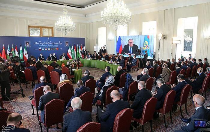 بیانیه مشترک وزیران خارجه کشورهای همسایه افغانستان+ روسیه