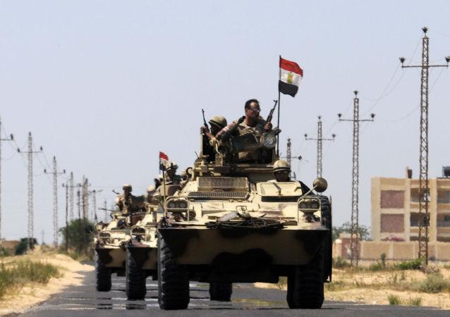 کشته شدن تعدادی از شبه نظامیان در جریان عملیات نیروهای امنیتی مصر