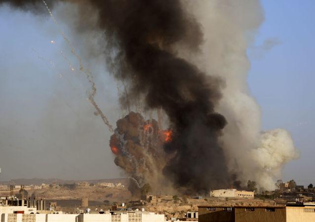 سرنگونی هواپیمای شناسایی ائتلاف عربی در یمن توسط شیعیان حوثی