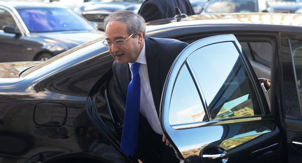 وزیر خارجه سوریه به تهران خواهد رفت