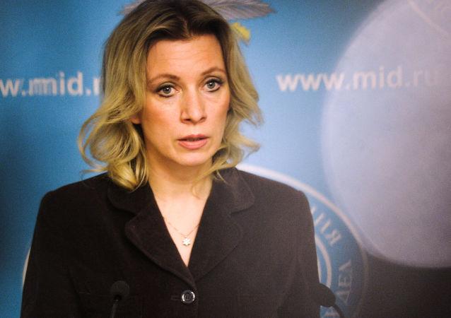 خانم ماریا زاخاروا، سخنگوی رسمی وزارت امور خارجه روسیه