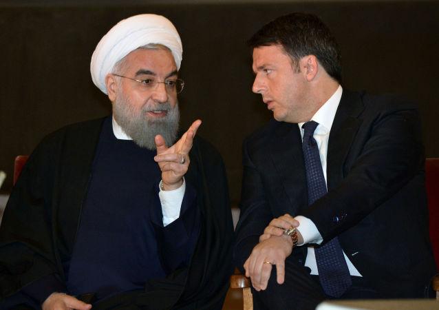 متیو رنیتس اولین رهبر غربی که بعد از لغو تحریم ها به ایران رفت