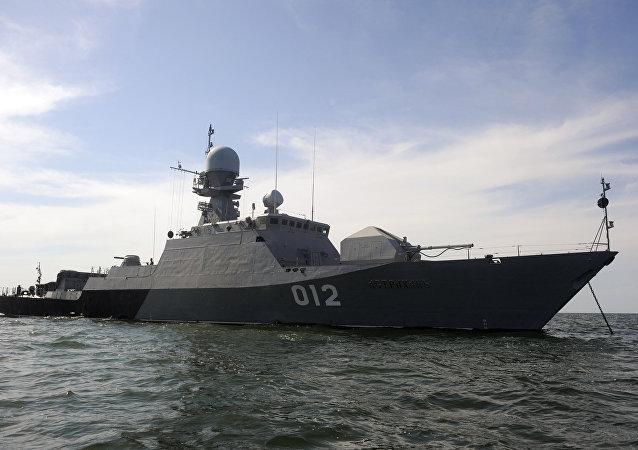 سفر کشتی های جنگی ناوگان دریای خزر به ایران، قزاقستان و جمهوری آذربایجان در سال 2016