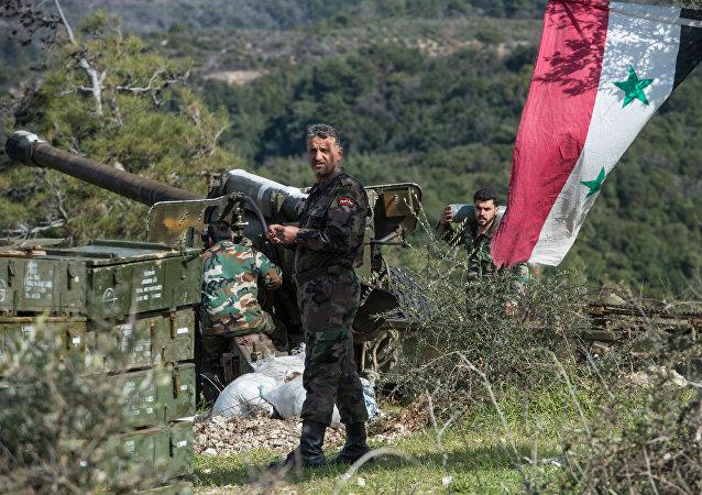 حمله به پایگاه آمریکا در حوالی میدان نفتی العمر در سوریه