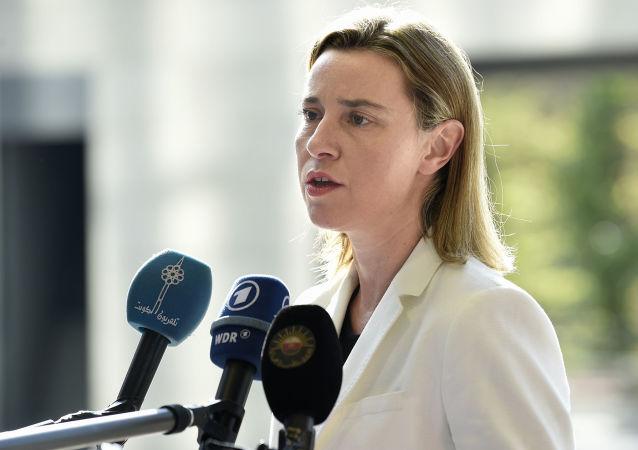 موگرینی: ترکیه فاصله زیادی با اتحادیه اروپا دارد