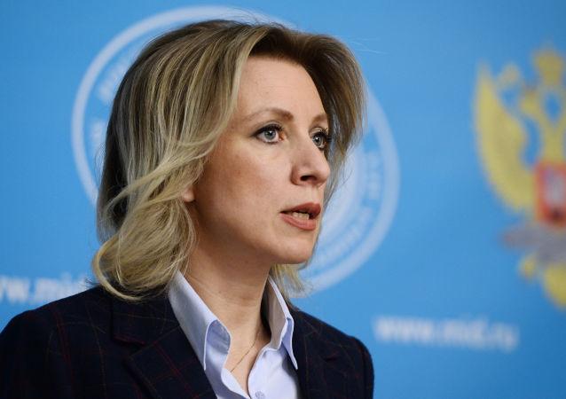 زاخاروا: مقامات ترکیه نقش مخربی در اوضاع سوریه ایفا می کنند