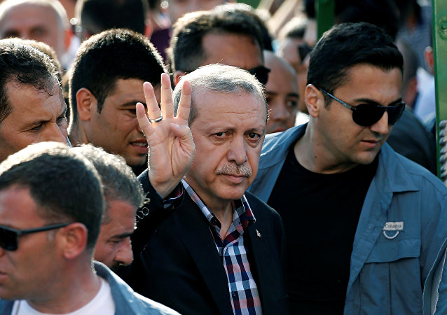 سفر اردوغان به سن پترزبورگ