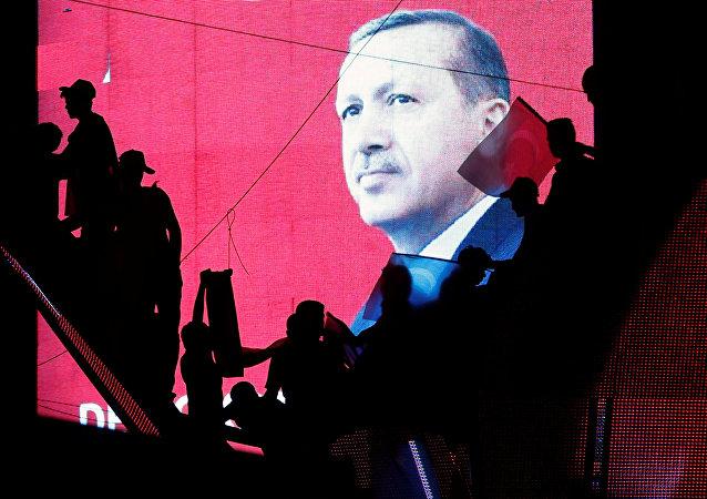 اردوغان یکی از مقامات بلند پایه آمریکا را به حمایت از شورشیان محکوم کرد