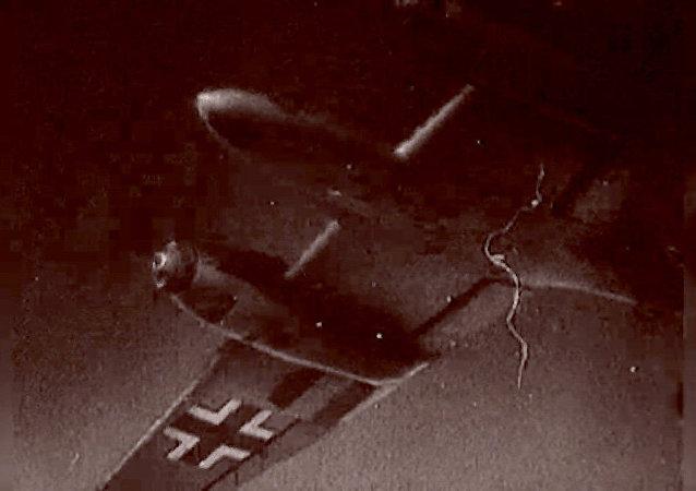فیلم اولین حمله هوایی آلمان نازی به مسکو در  سال 1941