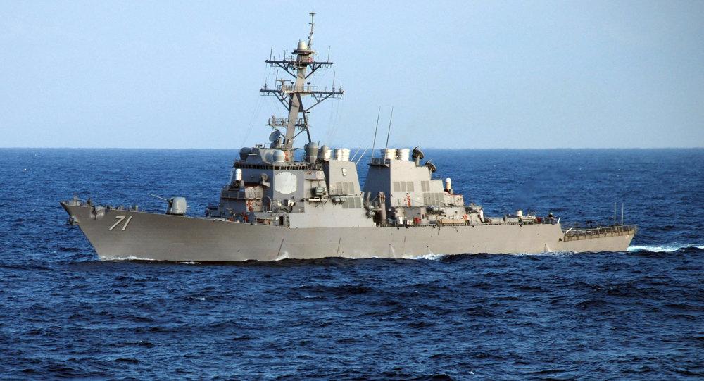 ناوشکن آمریکایی USS Ross وارد دریای سیاه می شود
