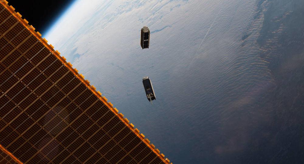 ماهواره در مدار زمین