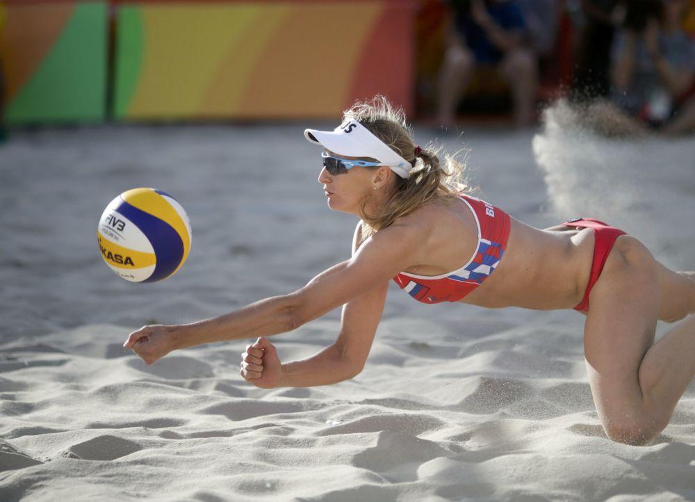 یکاترینا بیرلووا بازیگر والیبال ساحلی، ورزشکار روسیه در مسابقات المپیک ریو د ژانیرو