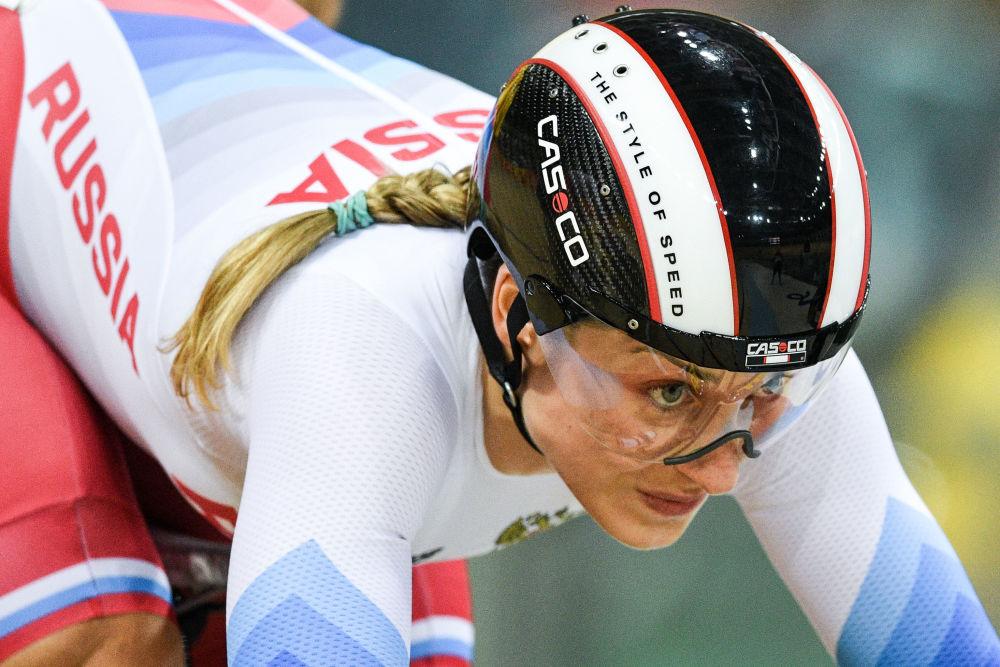 داریا شملووا ورزشکار  روسیه  در مسابقات المپیک ریو د ژانیرو
