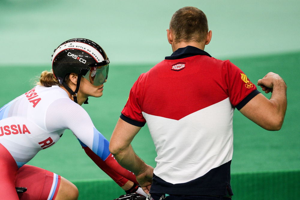 آناستاسیا وینووا دوچرخه سوار  روسیه در مسابقات المپیک ریو د ژانیرو