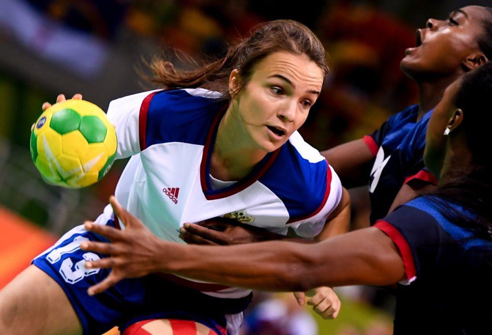 آنا ویاخیروا، بازیگر هندبال روسیه در مسابقات المپیک ریو د ژانیرو