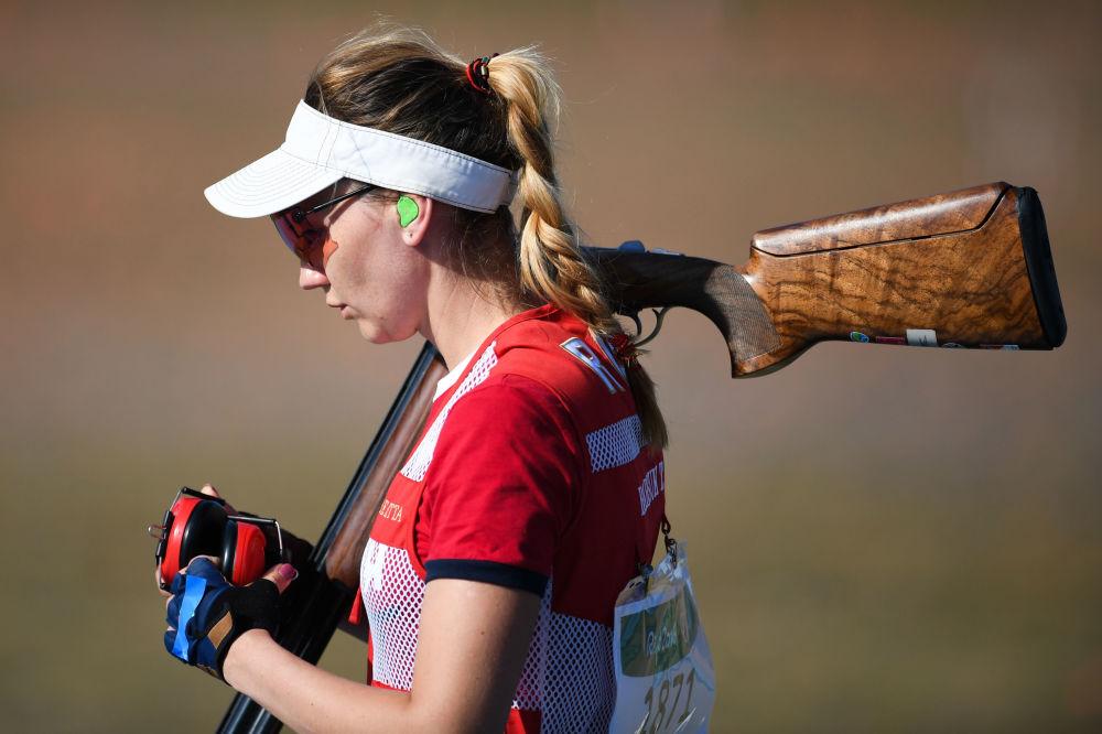 تاتیانا بارسوک ورزشکار روسیه در مسابقات المپیک ریو د ژانیرو