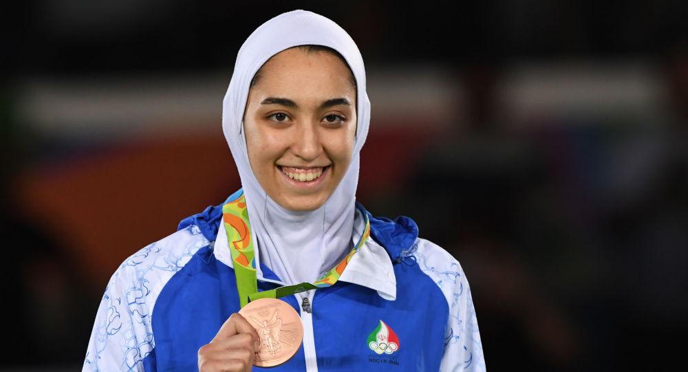 دختر تکواندو کار ایرانی موفق به دریافت مدال المپیک ریو شد
