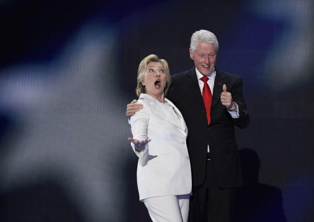 معشوقه سابق بیل کلینتون برای حمایت از ترانپ در مناظره انتخاباتی حضور می یابد