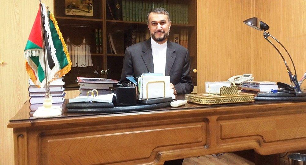عبداللهیان در گفتگوی اختصاصی با اسپوتنیک: ایران در سخت ترین شرایط کنار دوستان و متحدان منطقه ای خود خواهد بود