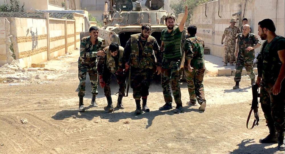 شنود مکالمات آمریکایی ها با داعش توسط ارتش سوریه قبل از حمله به دیر الزور