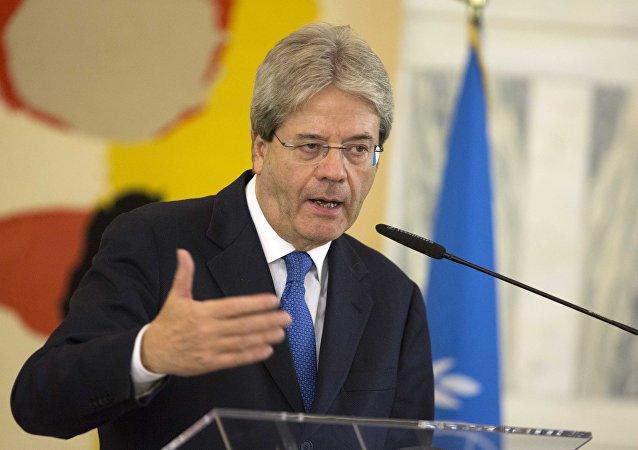 وزیر امور خارجه ایتالیا: عدم اعمال تحریم علیه روسیه یک تصمیم عاقلانه بود