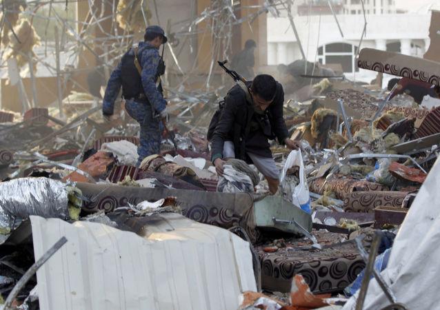 بیش از 25 نفر در حمله هوایی در یمن کشته شدند