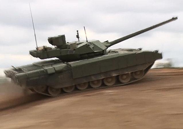آسیب پذیری تانک روسی آرماتا از دیدگاه آمریکایی ها