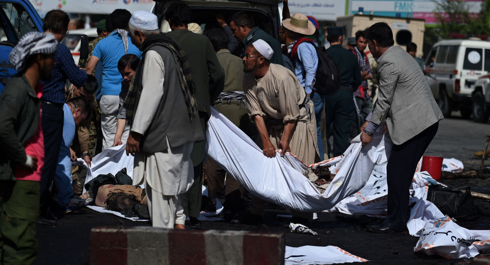انفجار در نزدیکی مسجدی در کابل