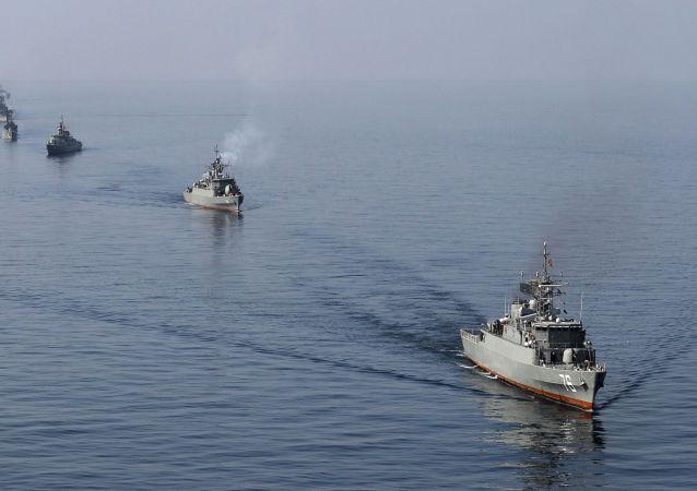 رزمایش ایران در خلیج فارس