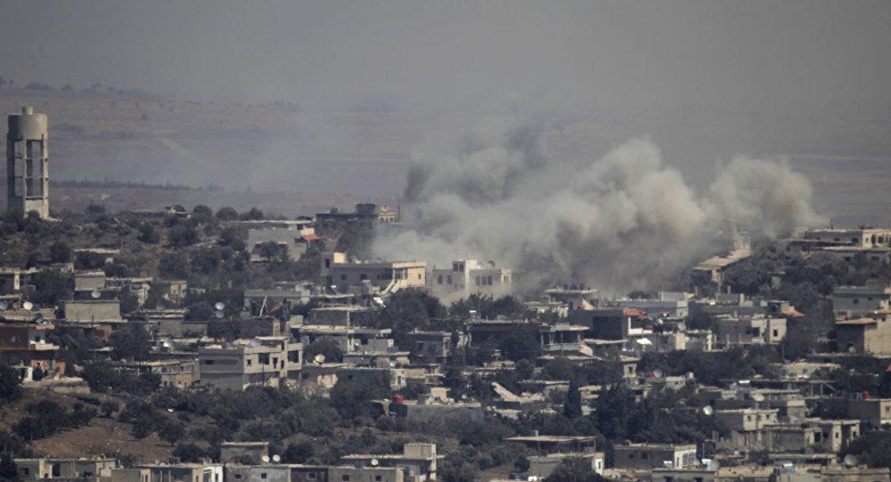 ارتش اسرائیل یک پهپاد را در مرز سوریه سرنگون کرد