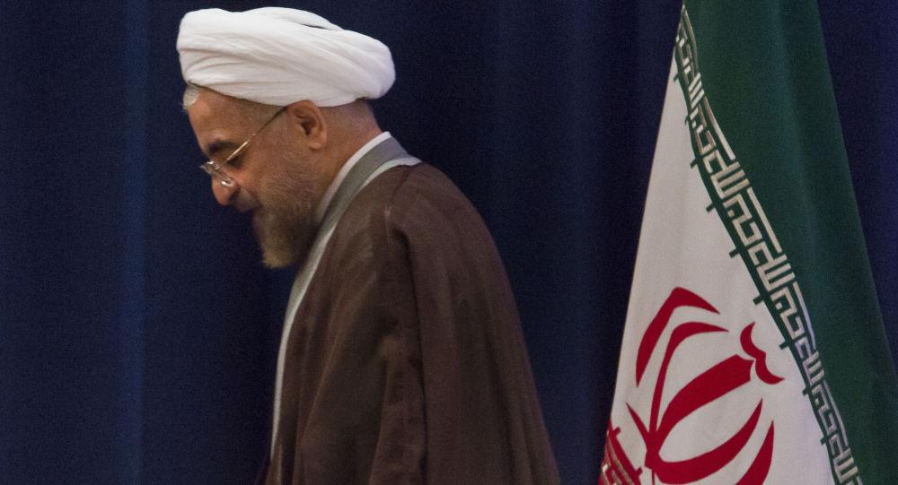 واکنش کاربران ايراني به توهين به روحاني در روز قدس +عکس
