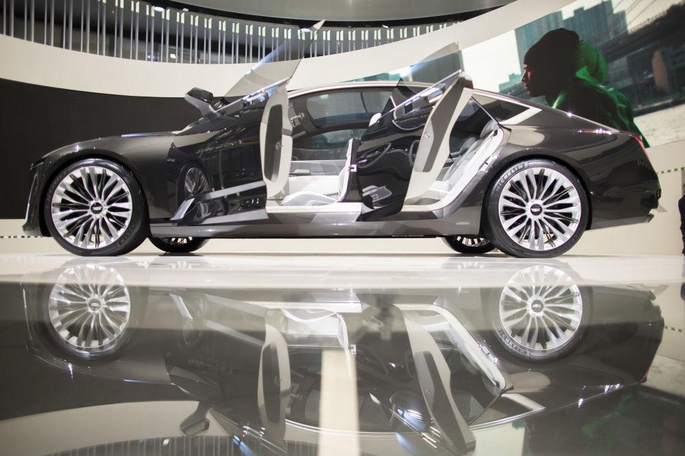 Cadillac Escala در نمایشگاه اتومبیل دیترویت