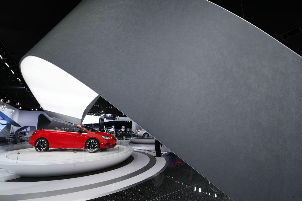 Buick Cascada در نمایشگاه اتومبیل دیترویت