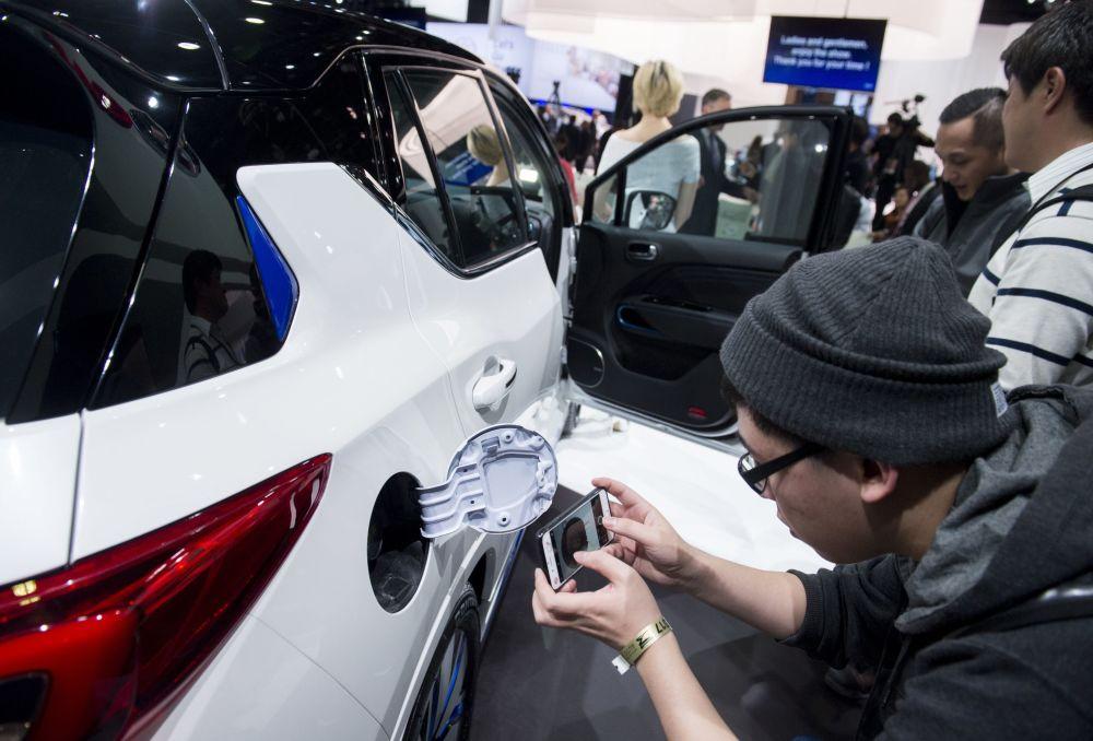 خودرو چینی GE3 در نمایشگاه اتومبیل دیترویت