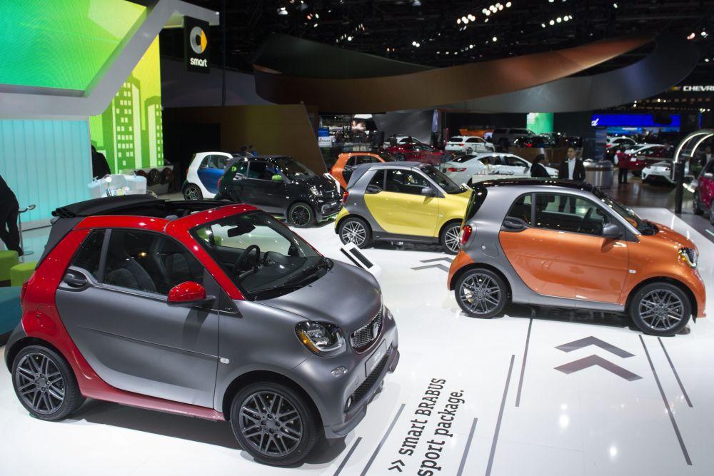 Smart در نمایشگاه اتومبیل دیترویت