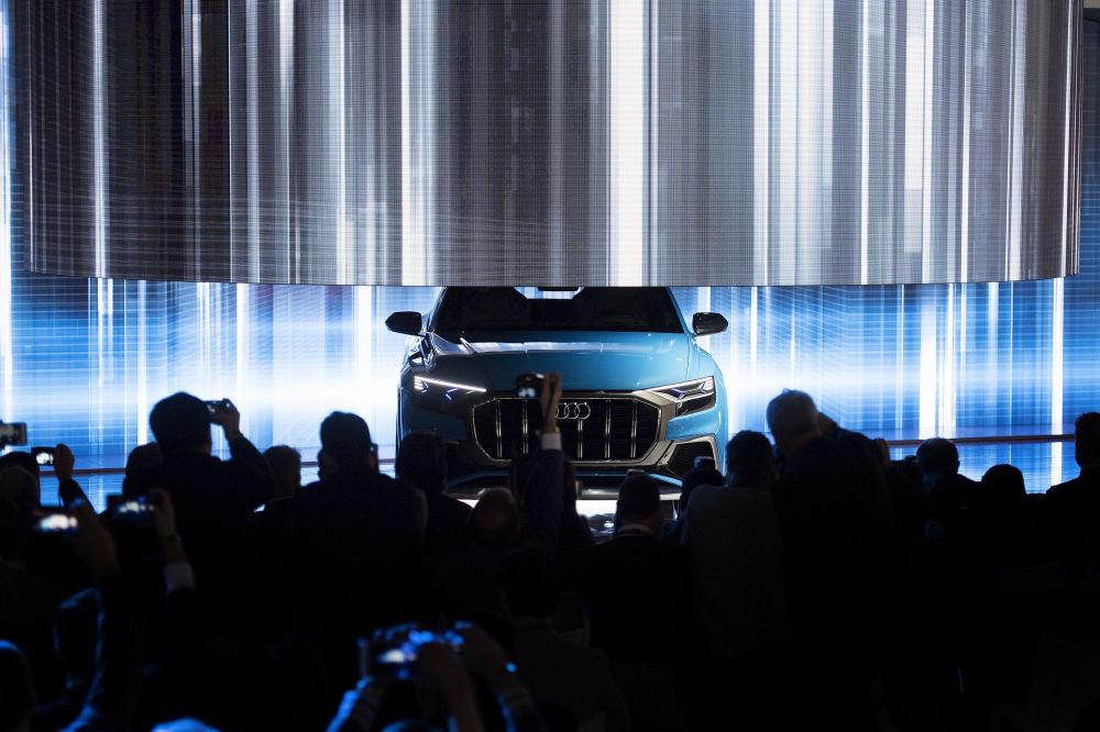 Audi Q8 در نمایشگاه اتومبیل دیترویت