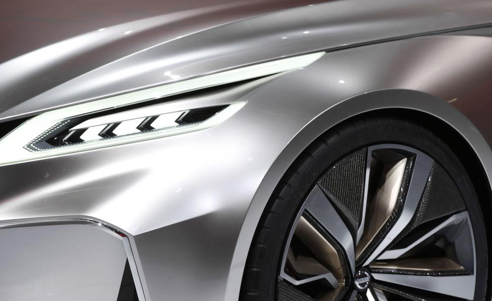 Nissan Vmotion 2.0  در نمایشگاه اتومبیل دیترویت