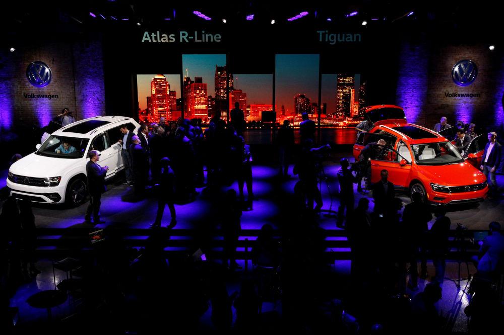 Volkswagen  در نمایشگاه اتومبیل دیترویت