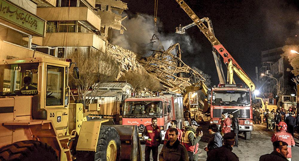 انتقاد کاربران از نمای جدید ساختمان پلاسکو تهران