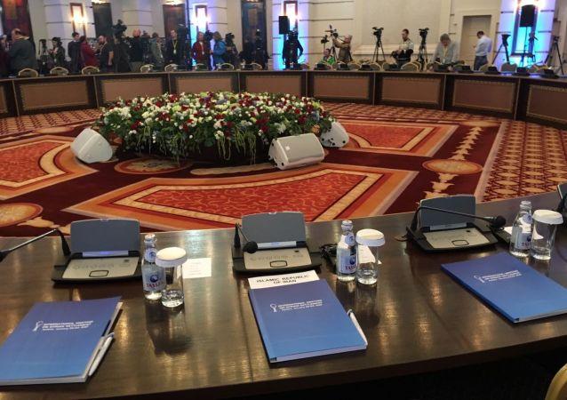 بیانیه مشترک نمایندگان ایران، روسیه و ترکیه در شانزدهمین نشست بینالمللی سوریه در