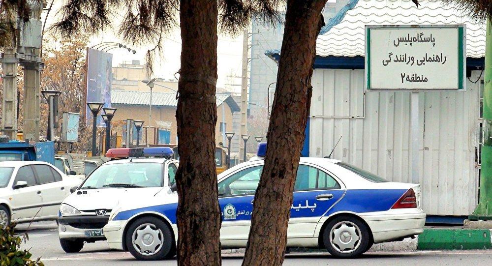 ایستگاه پلیس در تهران