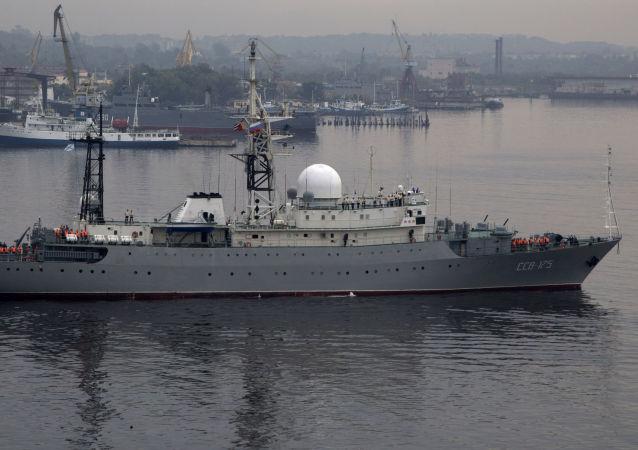 در پنتاگون درباره ردیابی یک کشتی شناسایی روسی توضیح دادند